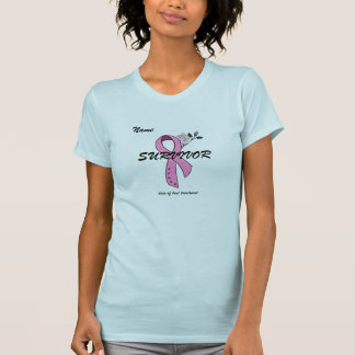 Breast Cancer SURVIVOR T-shirt - Customized