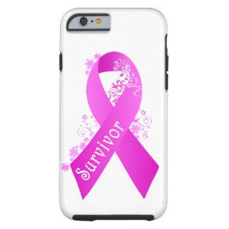 Breast Cancer Survivor Tough iPhone 6 Case