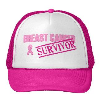 Breast Cancer Survivor Trucker Hat
