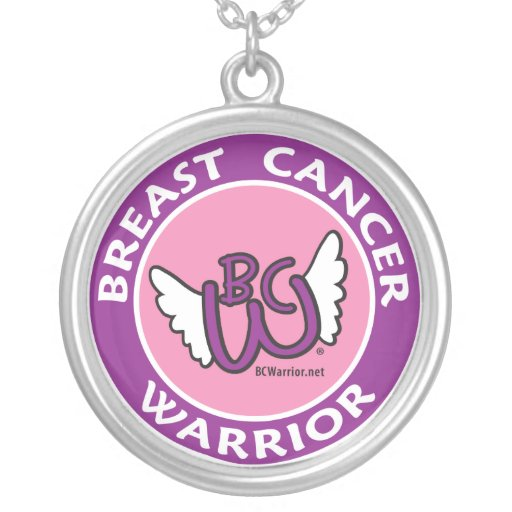 Breast Cancer Warrior Necklace