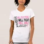 Breast Cancer Warrior T-shirts