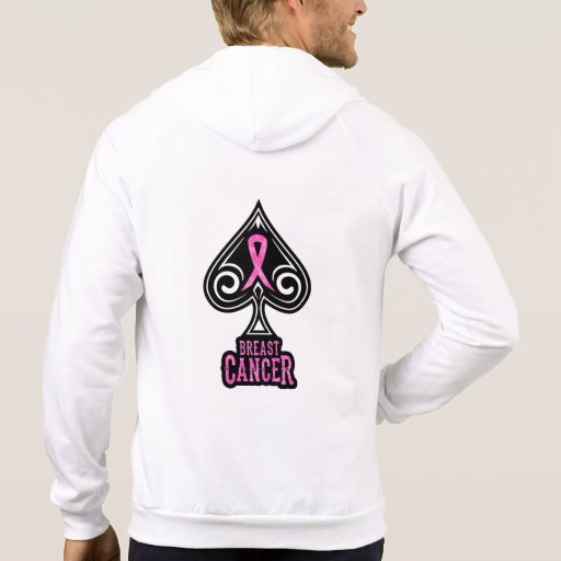 Breast Cancer - Zipper Hoodie - Spades Edition