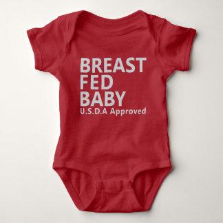 Breast Fed Baby Baby Bodysuit