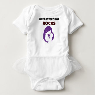 breast feeding rocks baby bodysuit