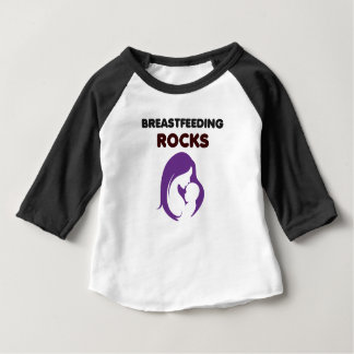 breast feeding rocks baby T-Shirt