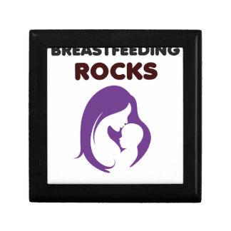 breast feeding rocks gift box