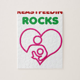 breast feeding rocks, mom with baby jigsaw puzzle