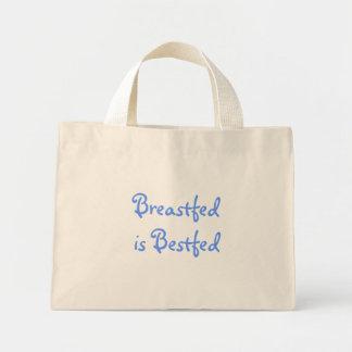 Breastfed is Bestfed Mini Tote Bag
