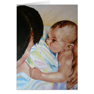 Breastfeeding and Bonding - Greeting Card