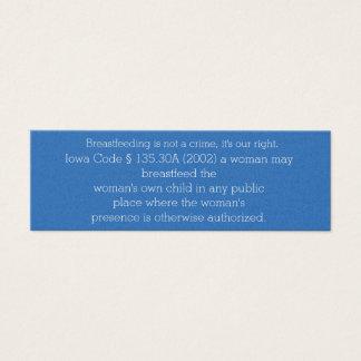 Breastfeeding Card Iowa