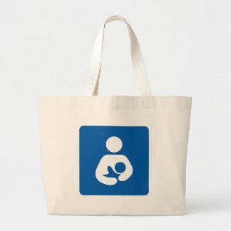 Breastfeeding Icon Jumbo Tote Bag