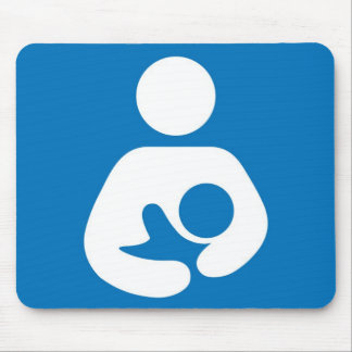 breastfeeding icon mouse pad