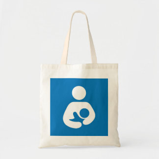 breastfeeding icon tote bag