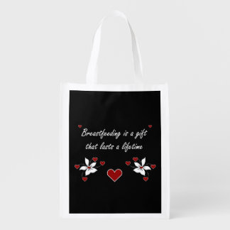 Breastfeeding is a Gift Grocery Bags