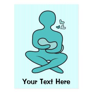 Breastfeeding Mother & Baby Postcard