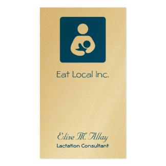 Breastfeeding / Nursing Icon Business Card