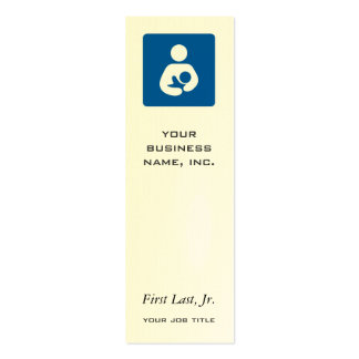 Breastfeeding / Nursing Icon Business Cards