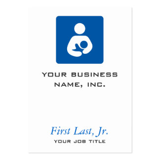 Breastfeeding / Nursing Icon Business Card Templates