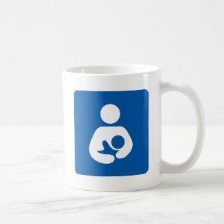 Breastfeeding / Nursing Icon Classic White Coffee Mug