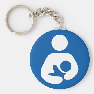 Breastfeeding / Nursing Icon Keychain