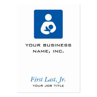 Breastfeeding / Nursing Icon Large Business Card