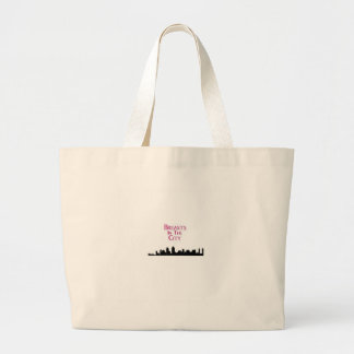 Breasts in the City-Skyline Jumbo Tote Bag