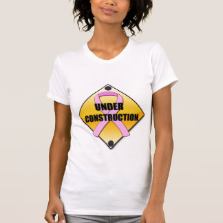 Breasts Under Construction ($21.95) Tee Shirts