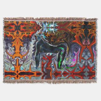 Breath of Fire Yoga Throw Blanket #1