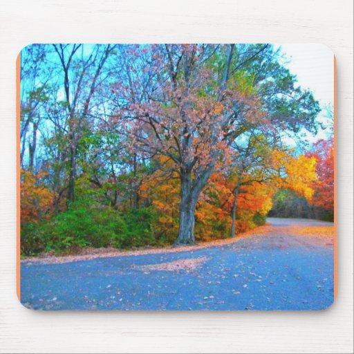 Breath-taking Autumn Day Getaway! Mousepads
