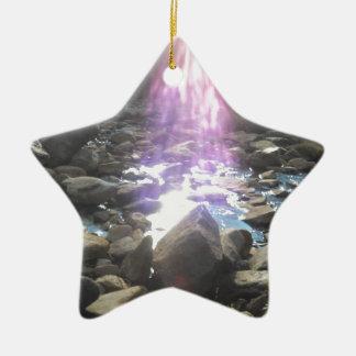 Breath-taking Inspiration Ceramic Star Ornament