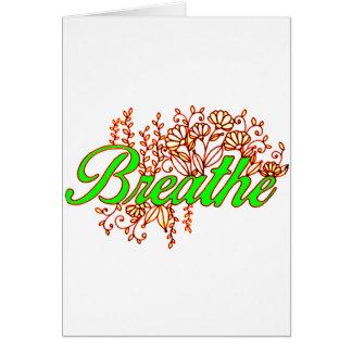 Breathe 2 card