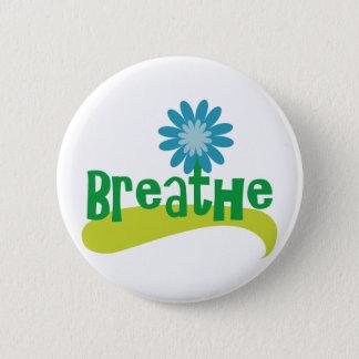 Breathe 2 Inch Round Button