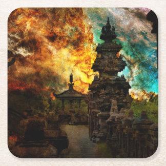 Breathe Again Bali Square Paper Coaster