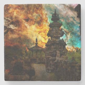 Breathe Again Bali Stone Beverage Coaster