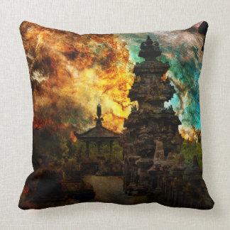 Breathe Again Bali Throw Pillow