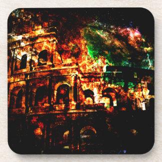 Breathe Again Dreams of Roman Patterns Past Coaster
