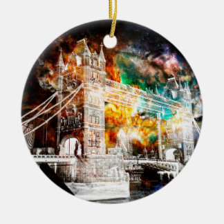 Breathe Again London Dreams Ceramic Ornament