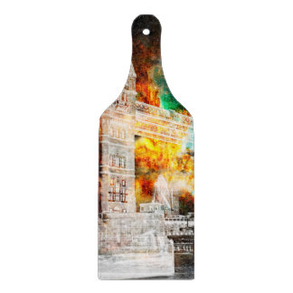 Breathe Again London Dreams Cutting Board