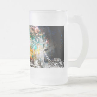 Breathe Again London Dreams Frosted Glass Beer Mug