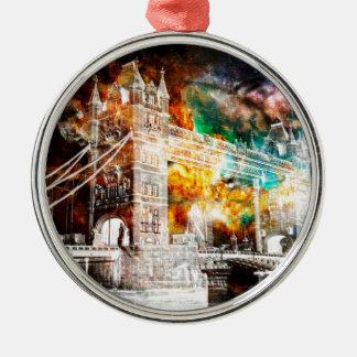Breathe Again London Dreams Metal Ornament