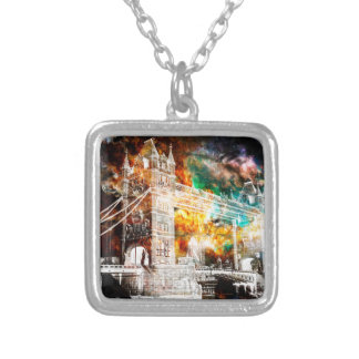 Breathe Again London Dreams Silver Plated Necklace