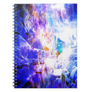 Breathe Again Yule Night Dreams Spiral Notebook