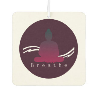 """Breathe"" Beautiful Buddha. Air Freshener"