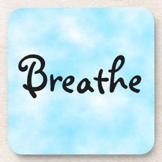 Breathe-cork coaster