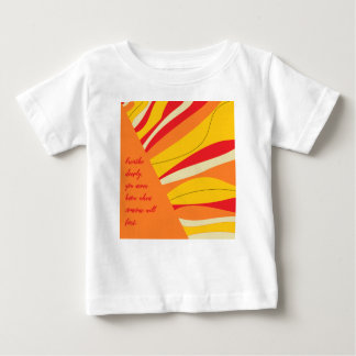 breathe deeply baby T-Shirt