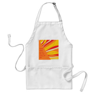 breathe deeply standard apron