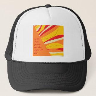 breathe deeply trucker hat