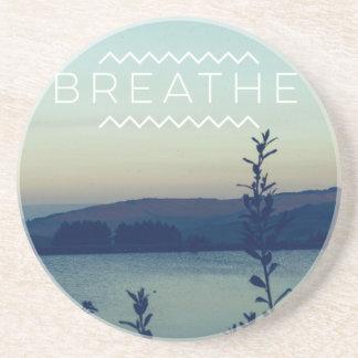 Breathe Drink Coaster