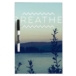 Breathe Dry Erase Board