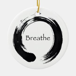 Breathe & Enso Ornament